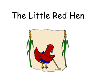 Preschool - Early Childhood Literary Curriculum based on the storybook The Little Red Hen by Lucinda McQueen