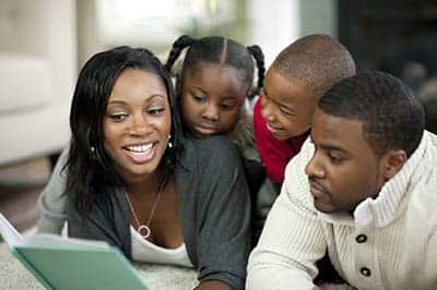 With the support of parents at home, children can learn to read much faster.